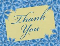 изолированный подарок карточки благодарит белизну вы Стоковые Фото