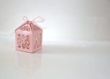 изолированный подарок коробки Стоковое Изображение RF
