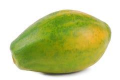 Изолированный плодоовощ папапайи стоковое изображение