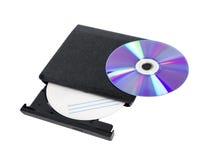 Изолированный рекордер DVD Стоковые Изображения