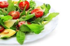 Изолированный салат Ruccola, стоковое изображение
