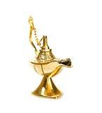 Изолированный светильник Aladdin волшебный на белизне Стоковые Фотографии RF