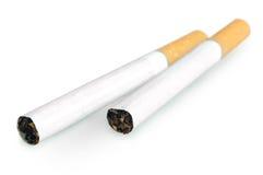 Изолированный 2 сигаретам Стоковое фото RF