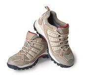 изолированный спорт ботинок Стоковое Изображение RF