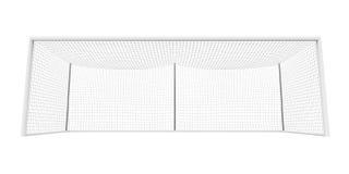 Изолированный столб цели футбола иллюстрация вектора
