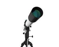 изолированный телескоп Стоковое Изображение