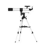 изолированный телескоп Стоковая Фотография RF