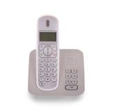 Изолированный телефон домочадца бесшнуровой Стоковое фото RF