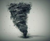 Изолированный торнадо иллюстрация штока