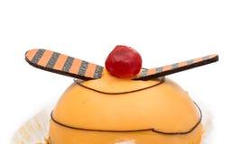 изолированный торт Стоковое Изображение