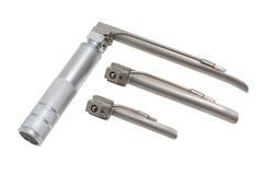 Изолированный установленному медицинского laryngoscope Стоковое Изображение