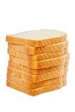 Изолированный хлеб Стоковая Фотография