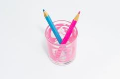изолированный цвет предпосылки близкий рисовал вверх по белизне Стоковое Фото
