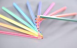 изолированный цвет предпосылки близкий рисовал вверх по белизне Стоковые Изображения RF