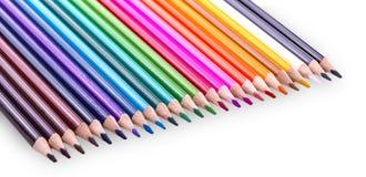 изолированный цвет предпосылки рисовал белизну Стоковое Изображение