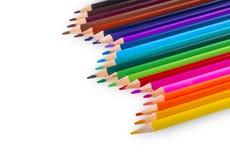 изолированный цвет предпосылки рисовал белизну Стоковые Изображения