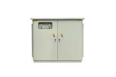 Изолированный шкаф батареи конденсаторов Стоковые Фото