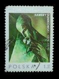 Изолированный штемпель почтового сбора Стоковые Фотографии RF