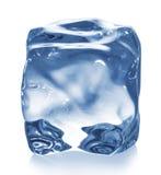 изолированный льдед кубика Стоковое фото RF