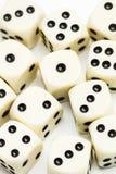 Изолировано dices Стоковая Фотография RF