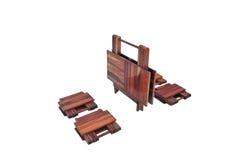 Изолирован деревянного шкафа на белой предпосылке хранение дизайна комнаты объекта современной мебели жить внутреннее Стоковое Фото