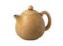 Изолят бака чая агашка китайский на белой предпосылке Стоковое Изображение RF