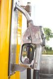 Изолят бензиновой колонки Стоковая Фотография