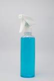 Изолят голубого цвета химический в белой предпосылке Стоковое фото RF
