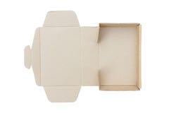 Изолят картонной коробки Стоковые Фото