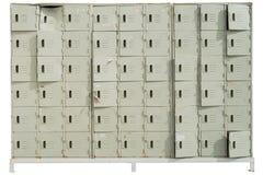 Изолят шкафчика спорта на белой предпосылке стоковые изображения rf