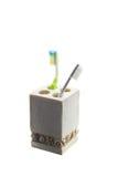 Изоляция зубной щетки в контейнере Стоковое Изображение RF