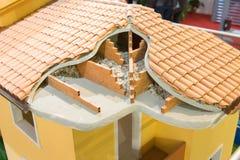 Изоляция крыши Стоковое Фото