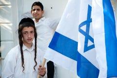 израильская еврейская молодость поселенца Стоковая Фотография RF