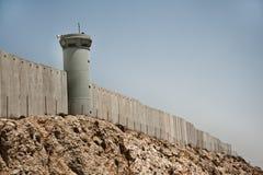 израильская стена разъединения стоковые изображения