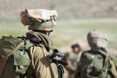 Израильская тренировка воина Стоковое фото RF