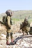 Израильская тренировка воина Стоковое Изображение RF