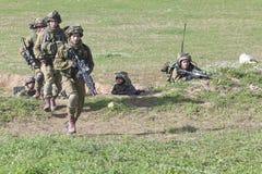 Израильская тренировка воина Стоковые Изображения RF