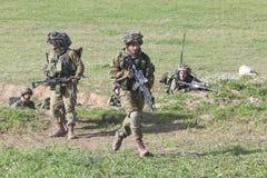 Израильская тренировка воина Стоковые Изображения