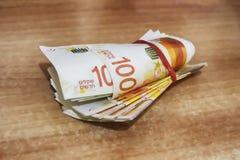 израильские деньги  стоковая фотография rf
