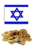 израильские деньги Стоковое фото RF