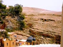 Израиль, Вифлеем, Святой Sabbas монастыря Стоковые Фото