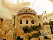 Израиль, город Иерусалима, еврейского квартала Стоковое Изображение
