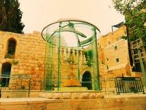 Израиль, город Иерусалима, через Cardo, еврейский квартал Стоковые Фотографии RF