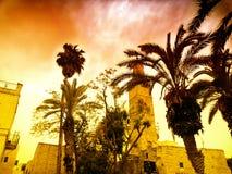 Израиль, город Иерусалима Стоковая Фотография