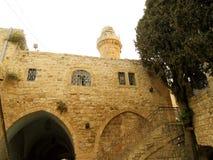 Израиль, город Иерусалима, Mount Zion Стоковые Фото