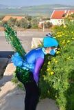 Израильская девушка в масленице Purim Стоковая Фотография RF