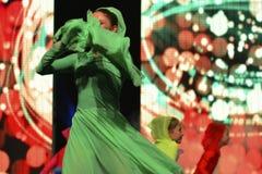 Израильский предназначенный для подростков танцор Стоковая Фотография RF
