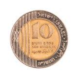10 израильское новое Sheqels Стоковые Изображения RF