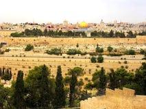 Израиль, город Иерусалима Стоковые Изображения