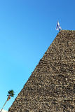 Израиль, старая башня кирпича Стоковое фото RF